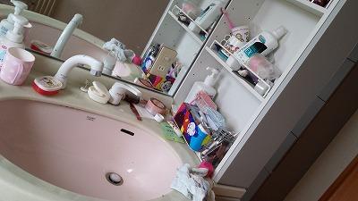 汚い洗面所