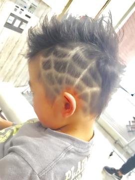 過激な髪型