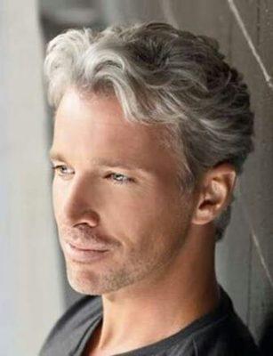 かっこいい白髪