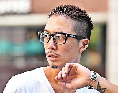 ショート眼鏡
